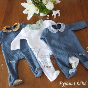 pyjama hiver 3 / 6 mois