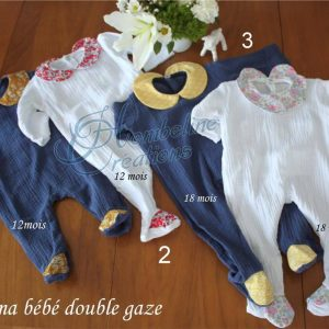 Pyjama de bébé été