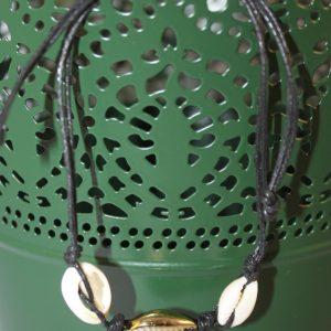 bracelet coquillage réglable